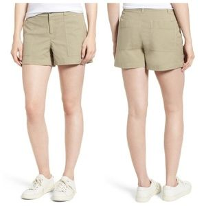 Nordstrom Signature NWT Patch Pocket Shorts